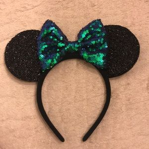 """Mermaid"" Sequin Mickey Minnie Ears!"